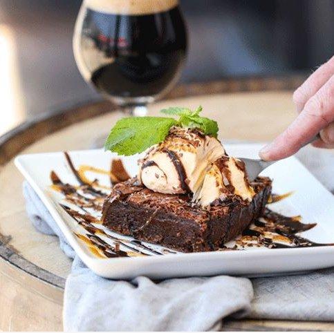 Stout Fudge Brownie