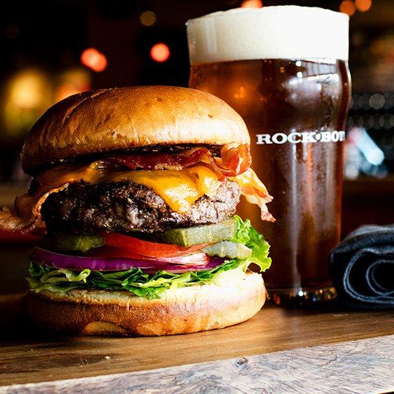 Beer and a Burger (Horizontal)